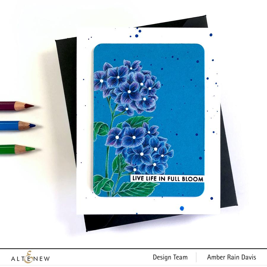 Altenew Paint-a-Flower: Hydrangea