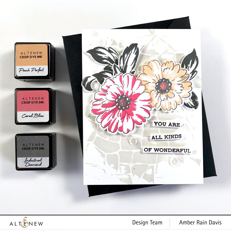 Altenew Precious Blooms Stamp Set