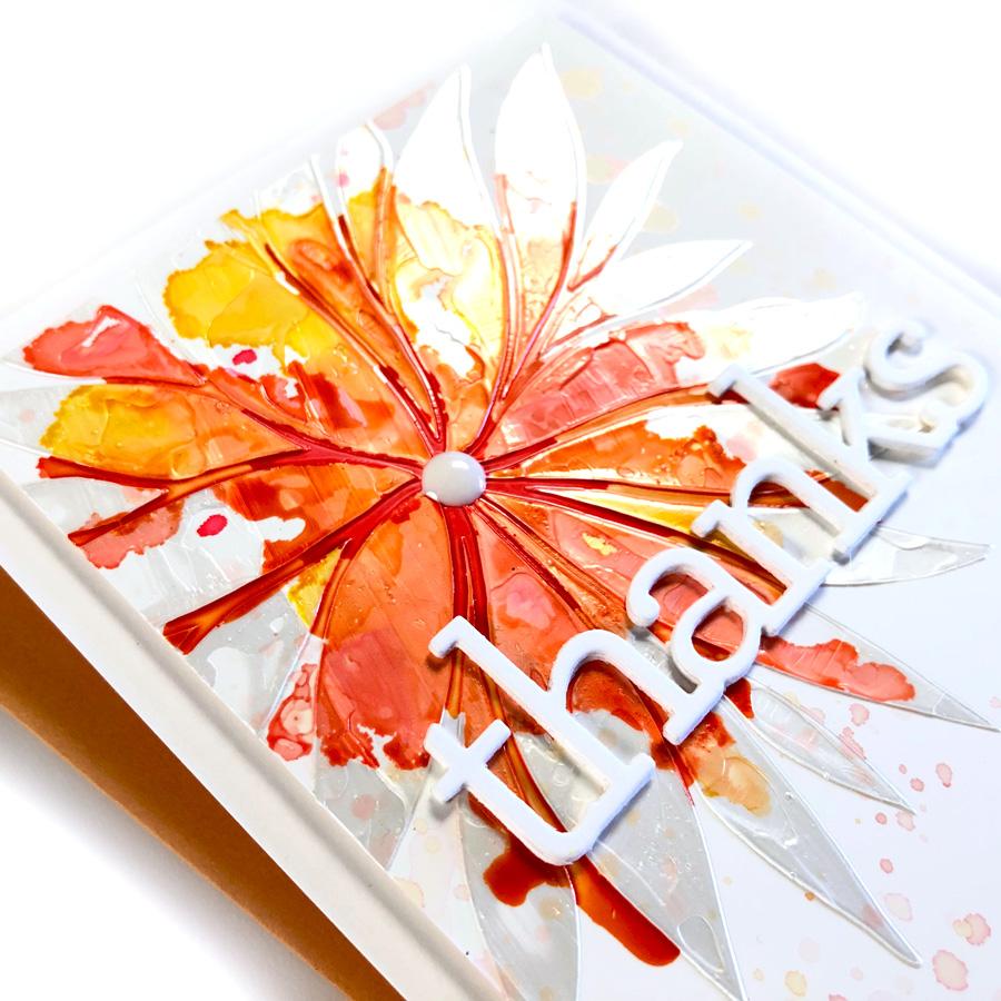 Paper Glaze & Alcohol Ink