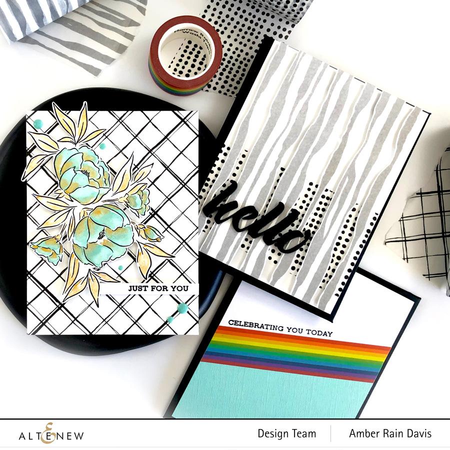 Altenew Wide Washi Tape Cards