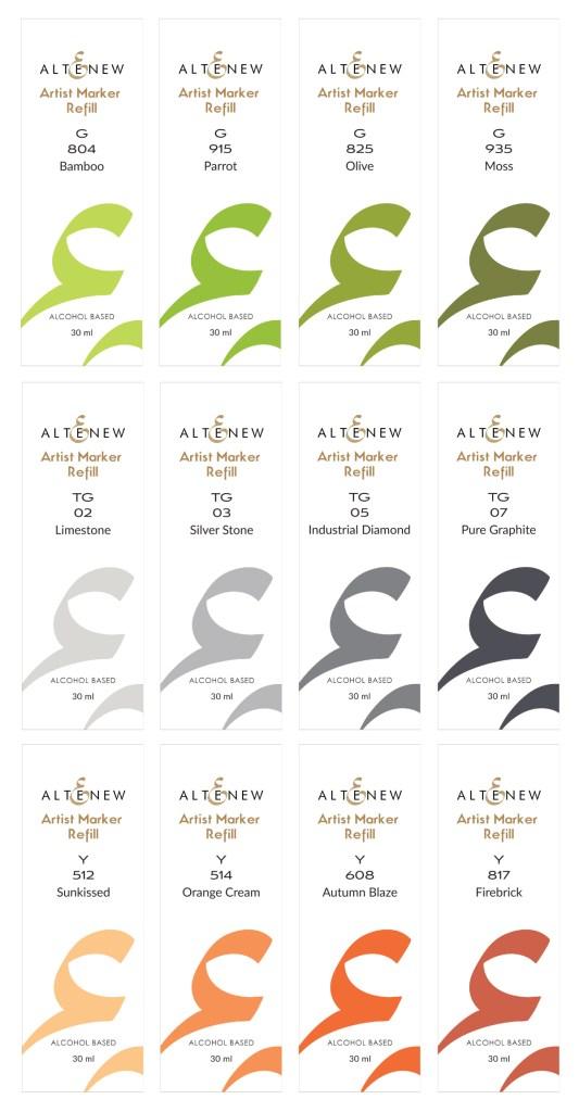 Altenew Artist Marker Refills