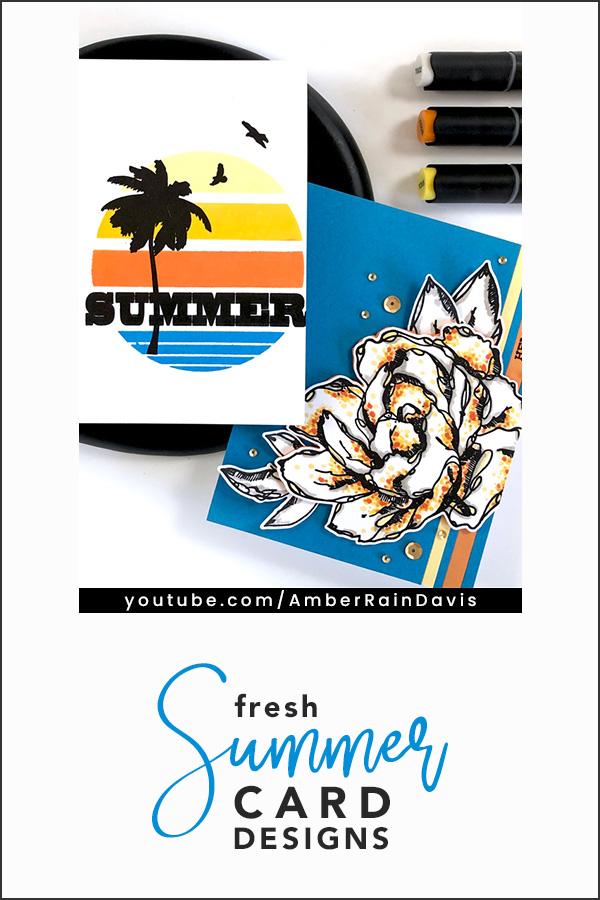 PINTEREST | Altenew Fresh Summer Cards Altenew Color Connection