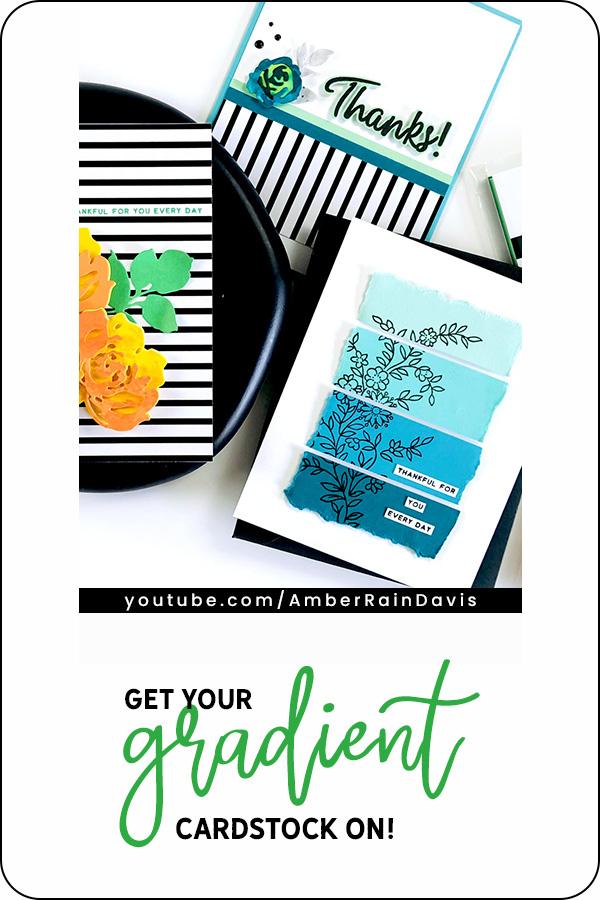 PINTEREST | Altenew Gradient Cardstock