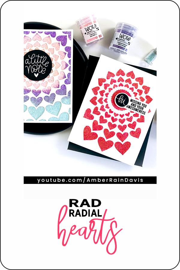 Pinterest   Rad Radial Hearts