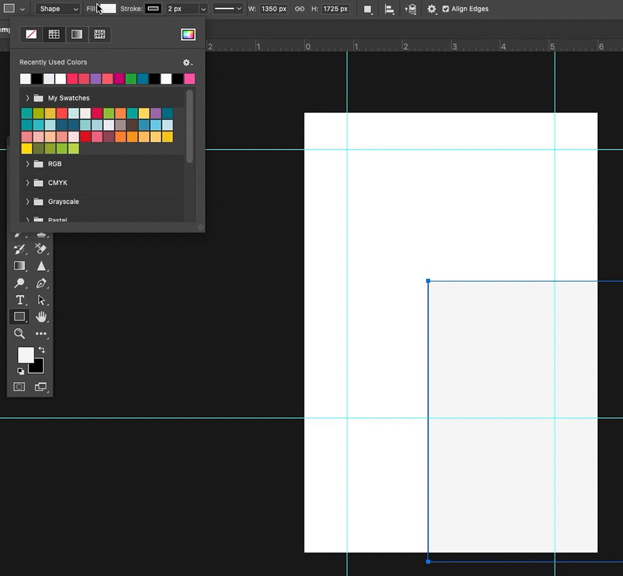 Create Background Rectangle