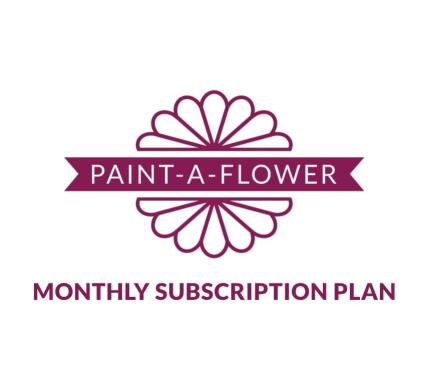 Altenew Paint-A-Flower Monthly Subscription Plan