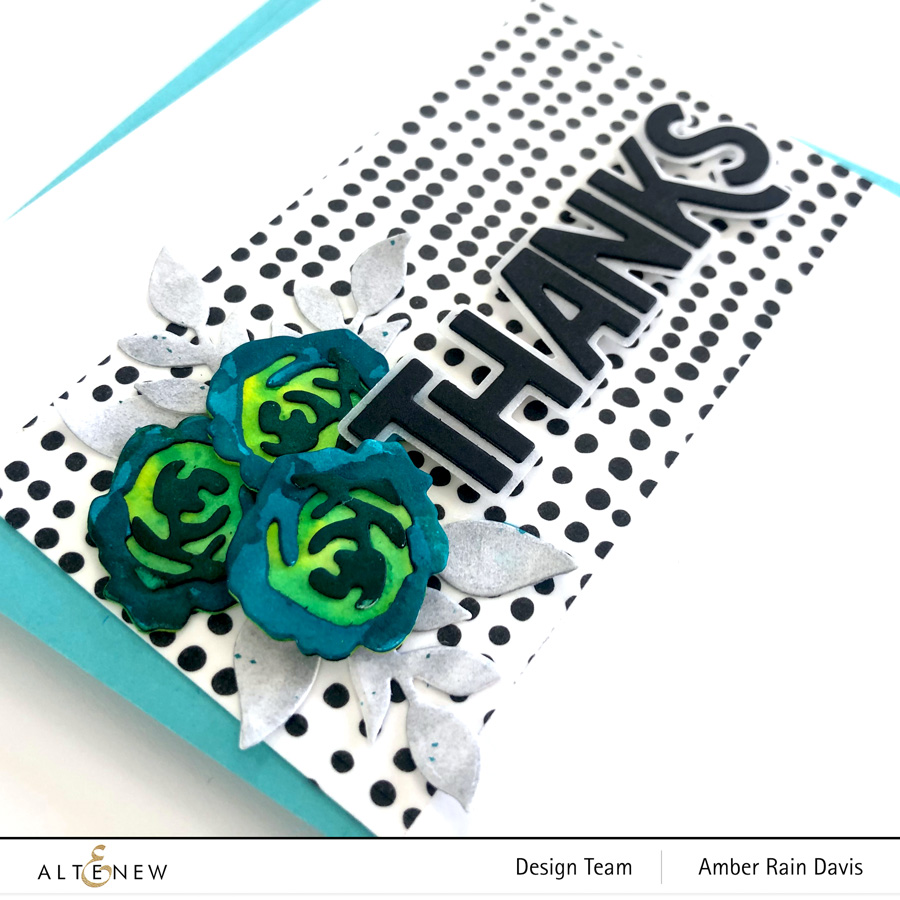 Altenew Bitty Bloom 3D Die Set | Altenew Bold Thanks Die Set