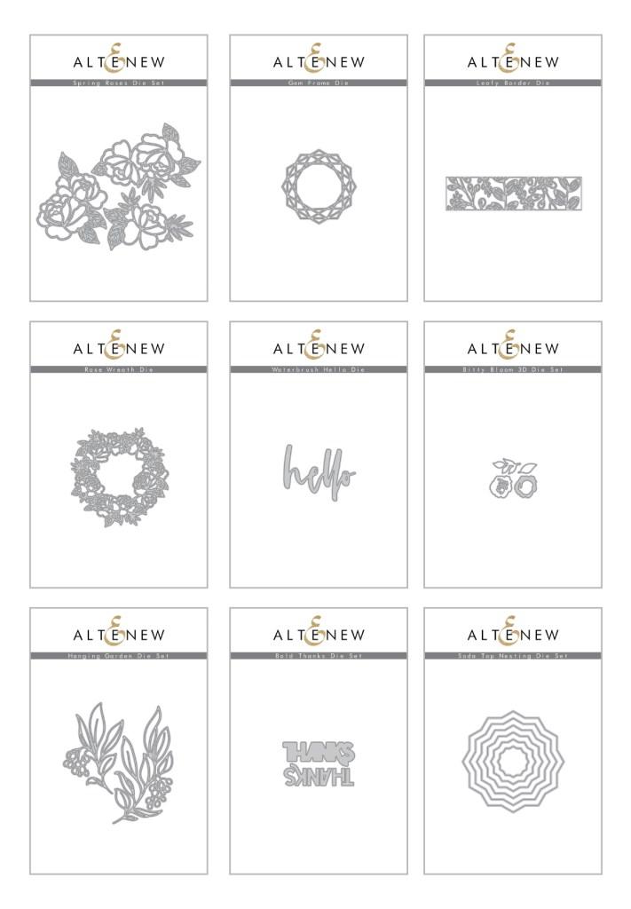 Altenew Fine Flora Full Release