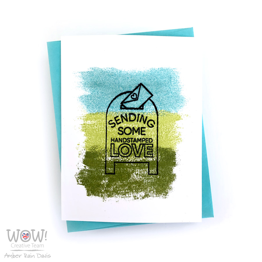 7 Ways to Heat Emboss | WOW! Mixed Media Embossing Brush
