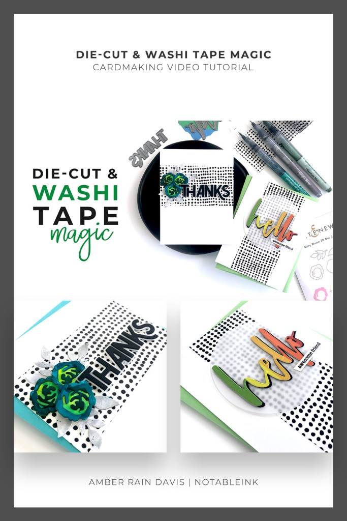PINTEREST | Die-Cut and Washi Tape Magic