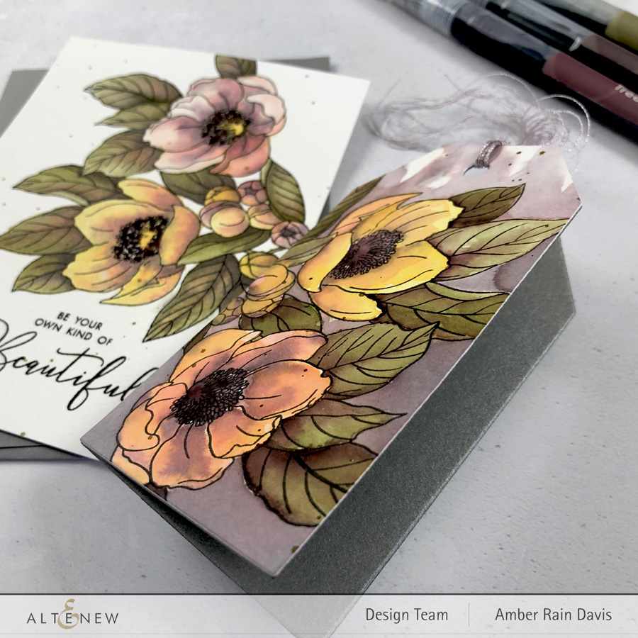 Vintage Watercolor Terrific Tags Card