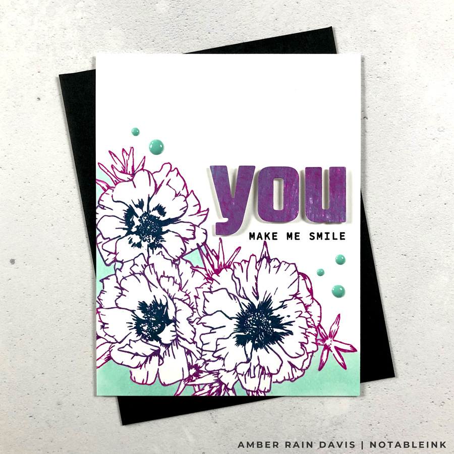 3rd Way to Color Cards | Mulit-Colored Stamping