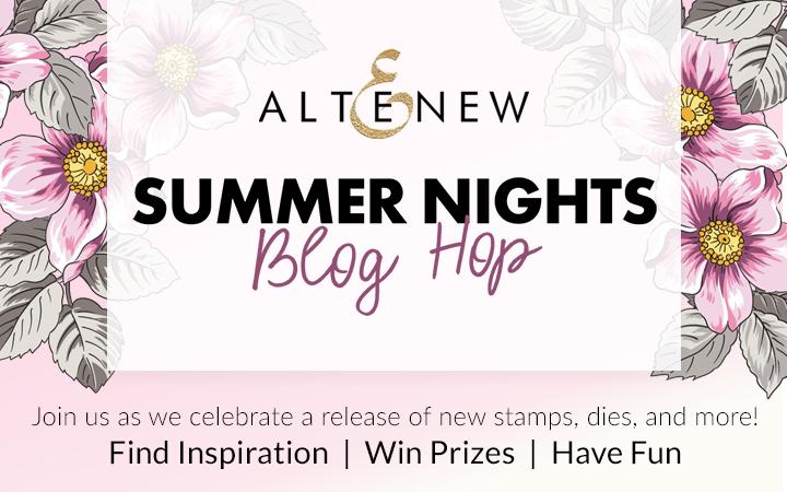 Altenew Summer Nights Blog Hop