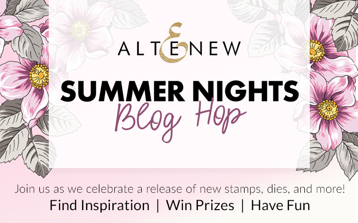 Altenew Summer Nights Blog Hop