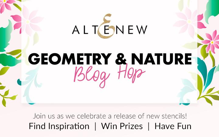 Altenew Geometry & Nature Blog Hop