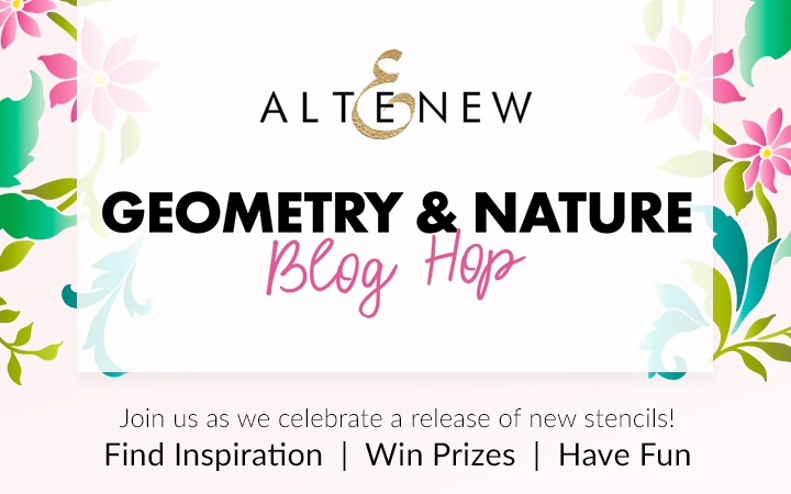 Altenew Geometry & Nature Blog Hop