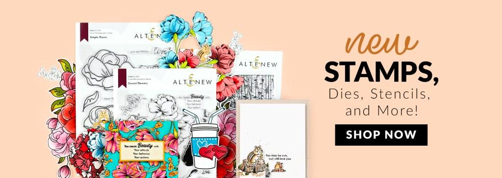 Altenew New Stamp Release