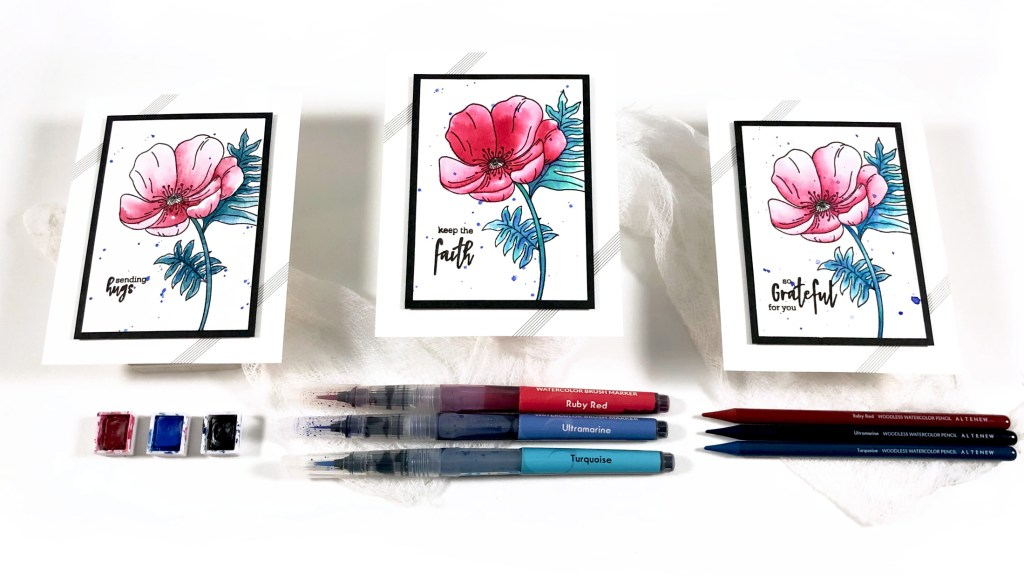 Altenew Artists Watercolor, Brush Markers, & Woodless Watercolor Pencils