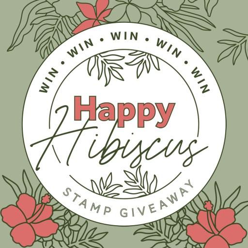 Tonic Studios Stamp Club Happy Hibiscus Giveaway