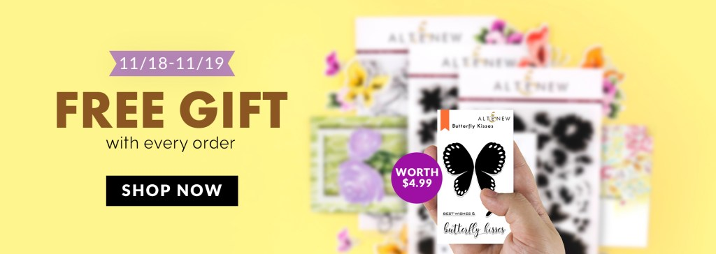 Altenew Butterfly Kisses Free Gift