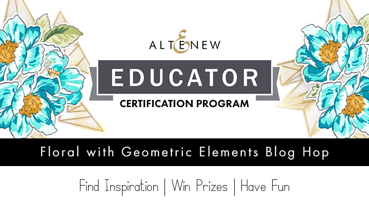 Altenew Educators Blog Hop, Giveaway, and Linky Party