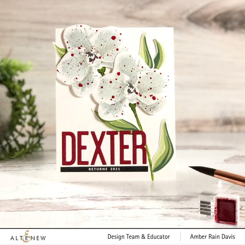 Layer Stamp White Flowers | Dexter Returns 2021