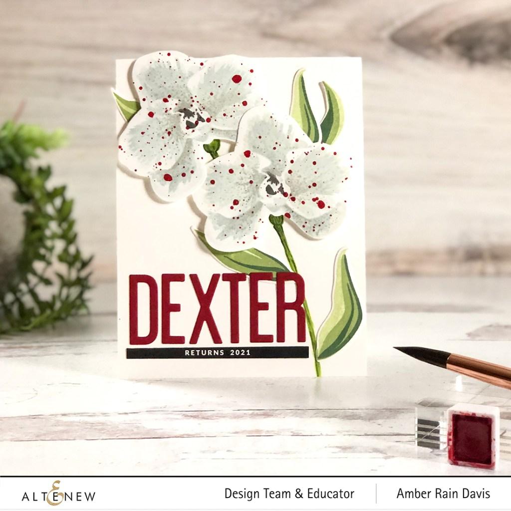 Layer Stamp White Flowers   Dexter Returns 2021
