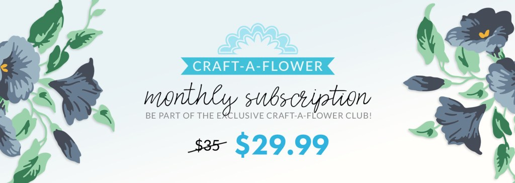 Altenew Craft-A-Flower: Morning Glory Subscription