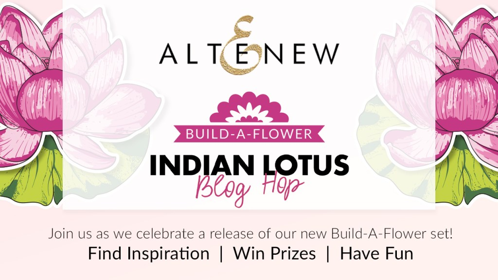 Altenew Build-A-Flower: Indian Lotus