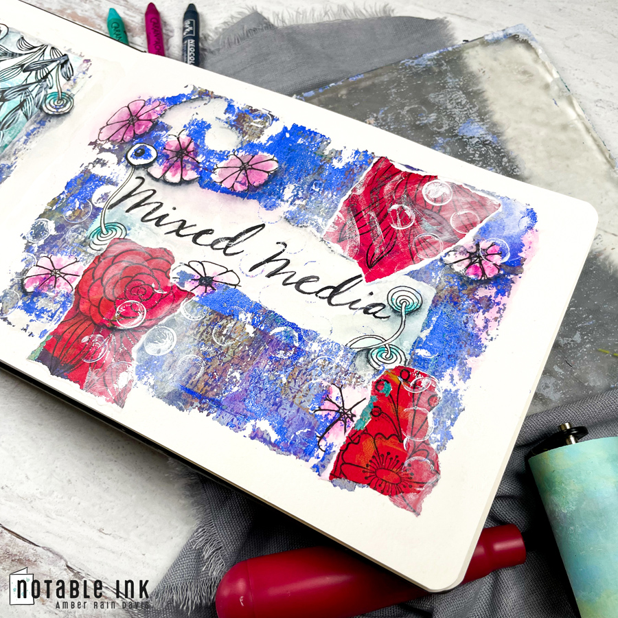 How To Mixed Media Art Journal
