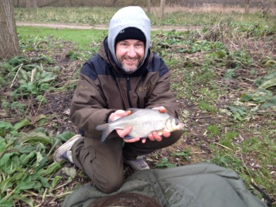 Luckily the village idiot offered to hold the fish for the photo