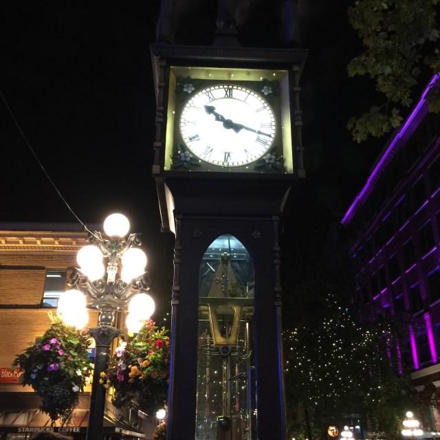 Gastown Steam Clock Vancouver
