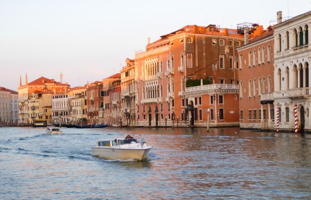 Grand Canal Venice at Sunrise