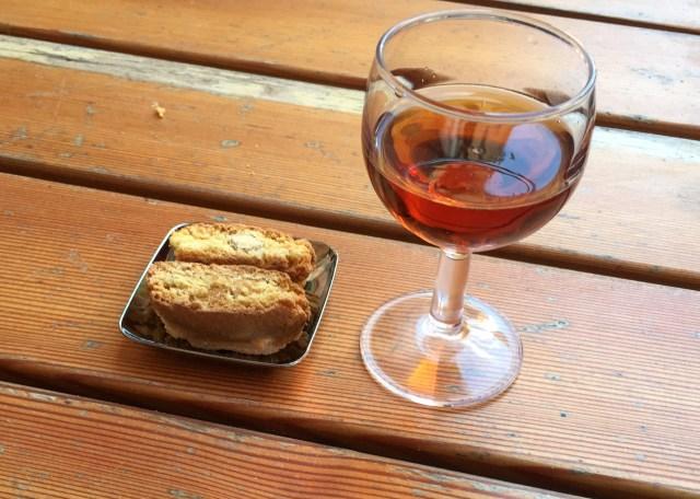 Sciacchetrà dessert wine tasting in Vernazza Cinque Terre Italy