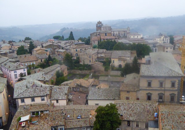 View from the Clock Tower Orvieto Italy