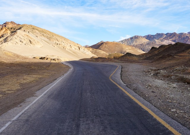 Artist's Drive is just one of seven must-see, must-do experiences at Death Valley National Park in southern California.
