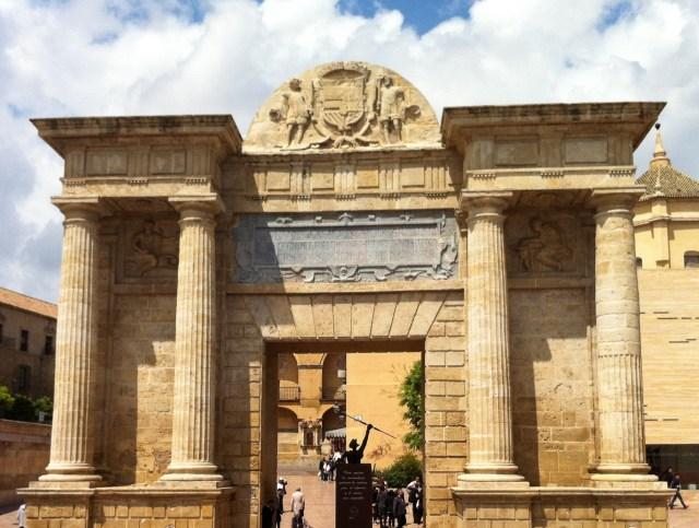 The Puerta del Puente in Cordoba Spain