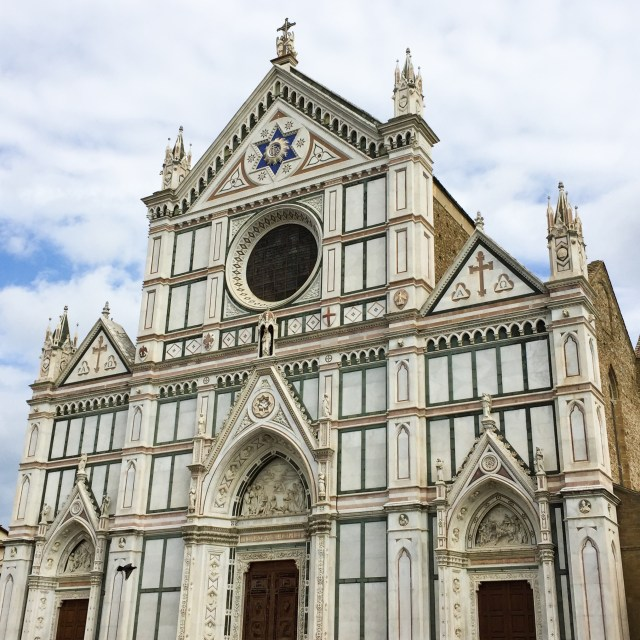 The Basilica di Santa Croce in Florence Italy