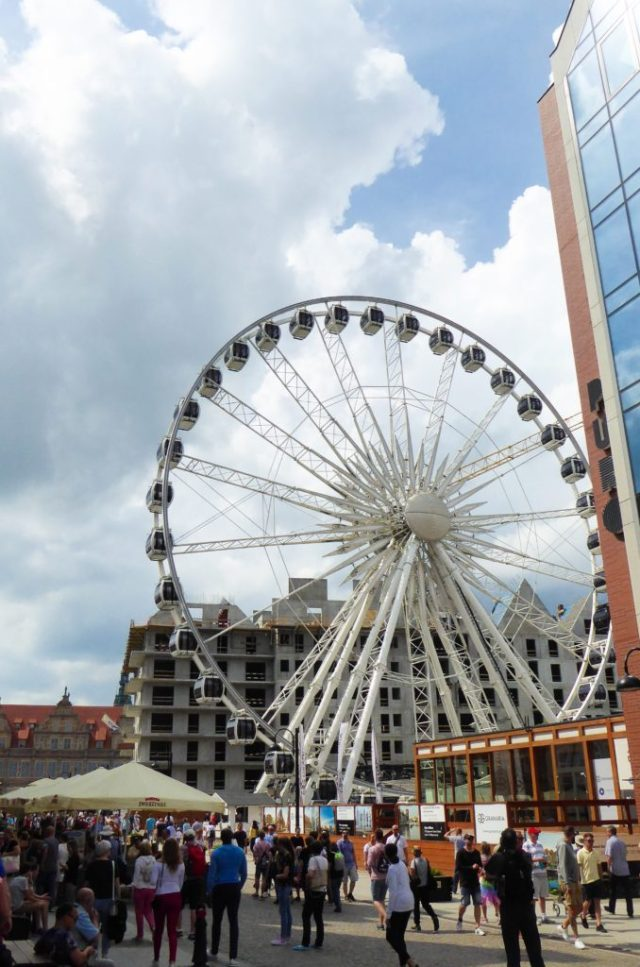 The Amber Eye Ferris Wheel Gdansk Poland