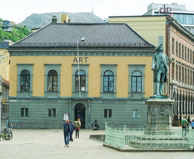 The Bryggen Area in Bergen Norway