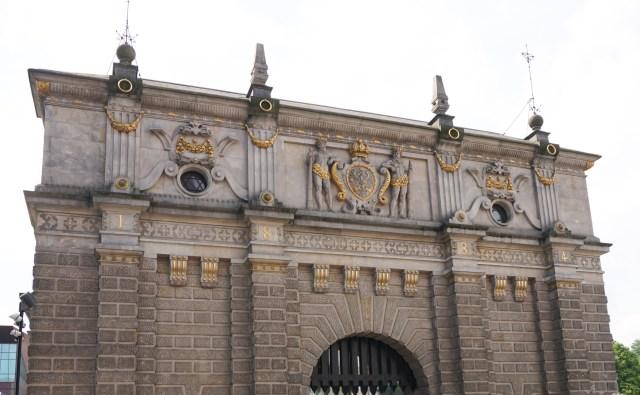Highland Gate Old Town Gdansk Poland