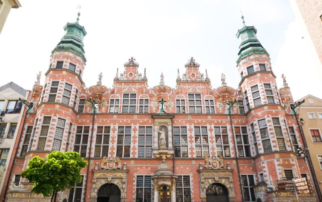 Armoury Old Town Gdansk Poland