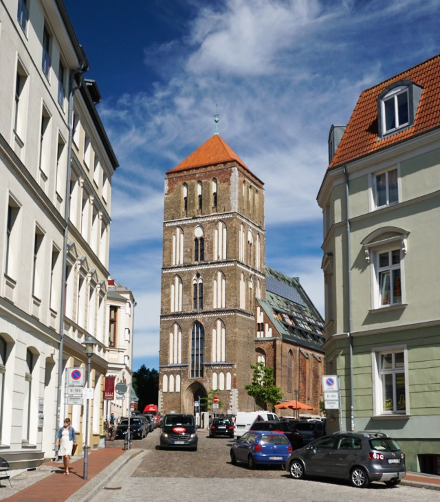 The Church of St. Nicholas in Rostock