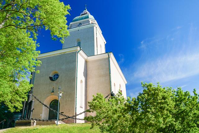 Church Suomenlinna Helsinki Finland