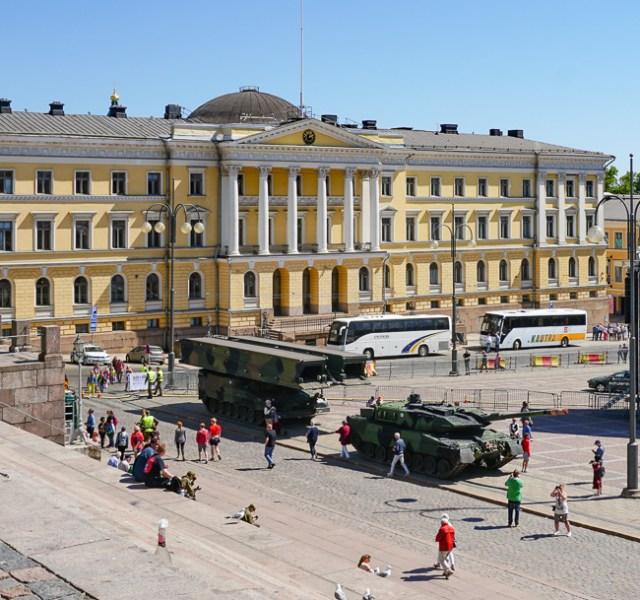 Government Palace Helsinki Finland