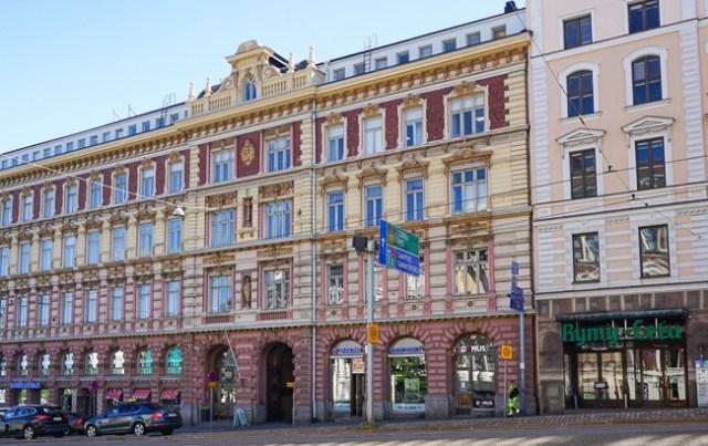 Architecture, Helsinki City Center, Finland