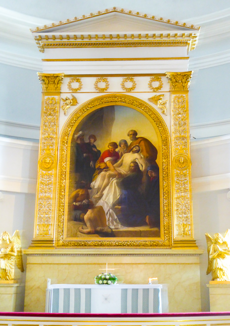 Interior of the Helsinki Cathedral, Helsinki, Finland