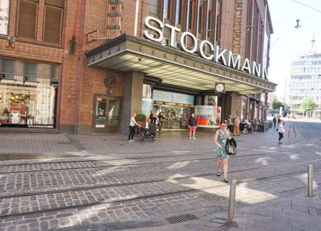 Stockmann Department Store Helsinki Finland