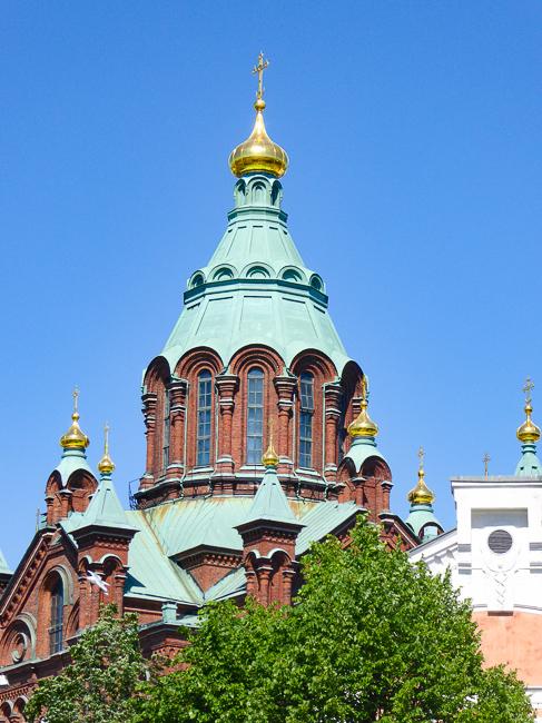 Uspenski Cathedral Helsinki Finland