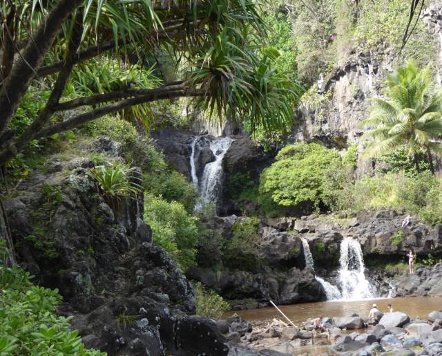 Pools of O'heo in Maui Hawaii